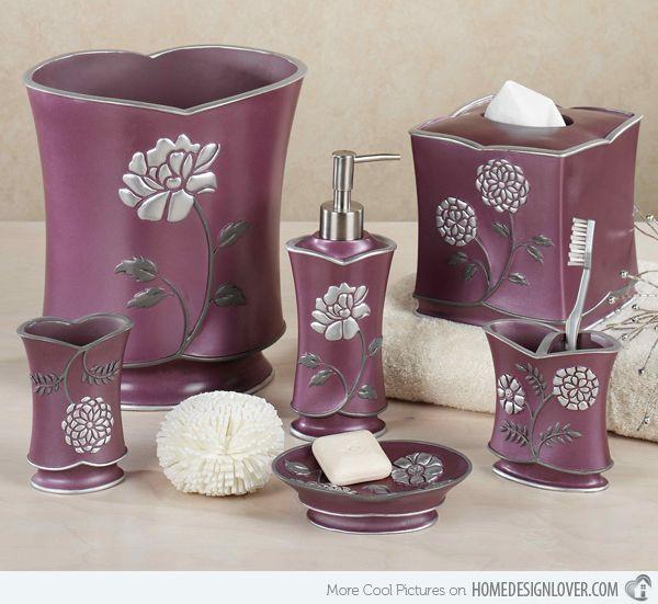 Elegant Bathroom Accessories Cheap: Best 25+ Purple Bathroom Accessories Ideas On Pinterest