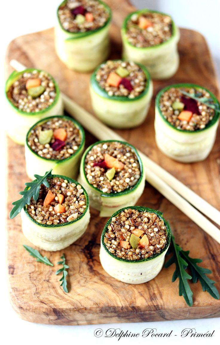 Makis quinoa et courgette 3 priméal