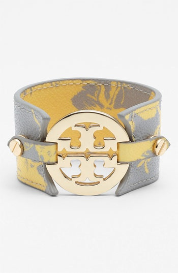 printed leather Tory cuff. #Nordstrom