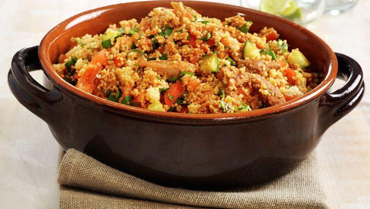 Spicy couscoussalat