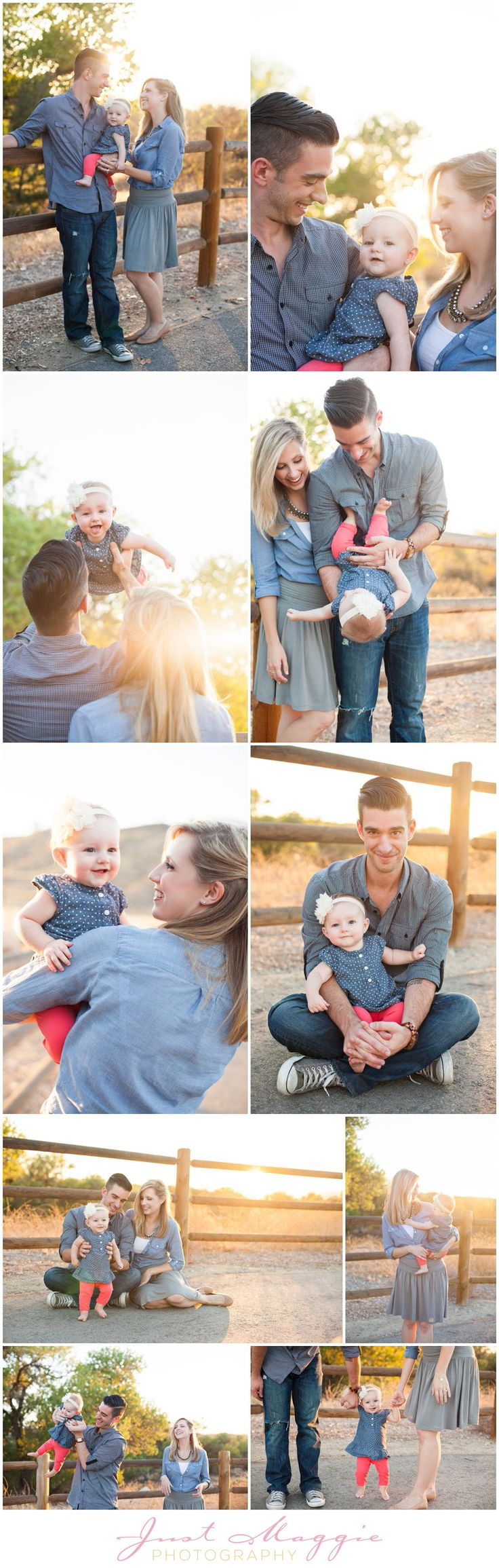 9 Month Portraits by Just Maggie Photography - Los Angeles Baby Photographer