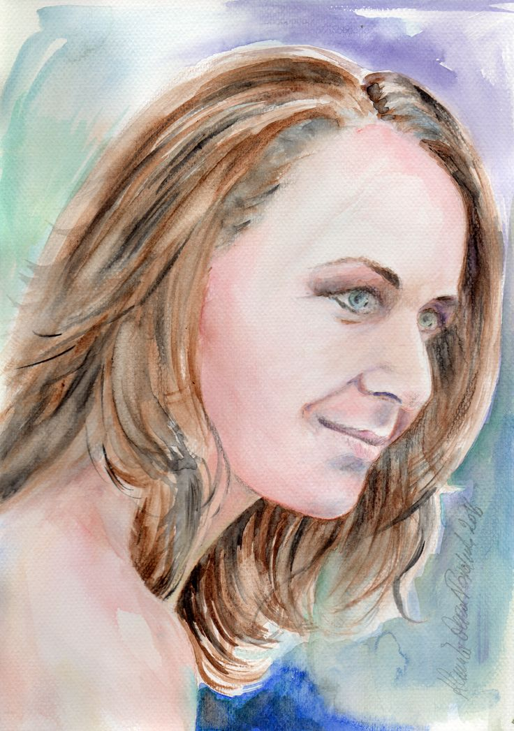Aquarell portrait