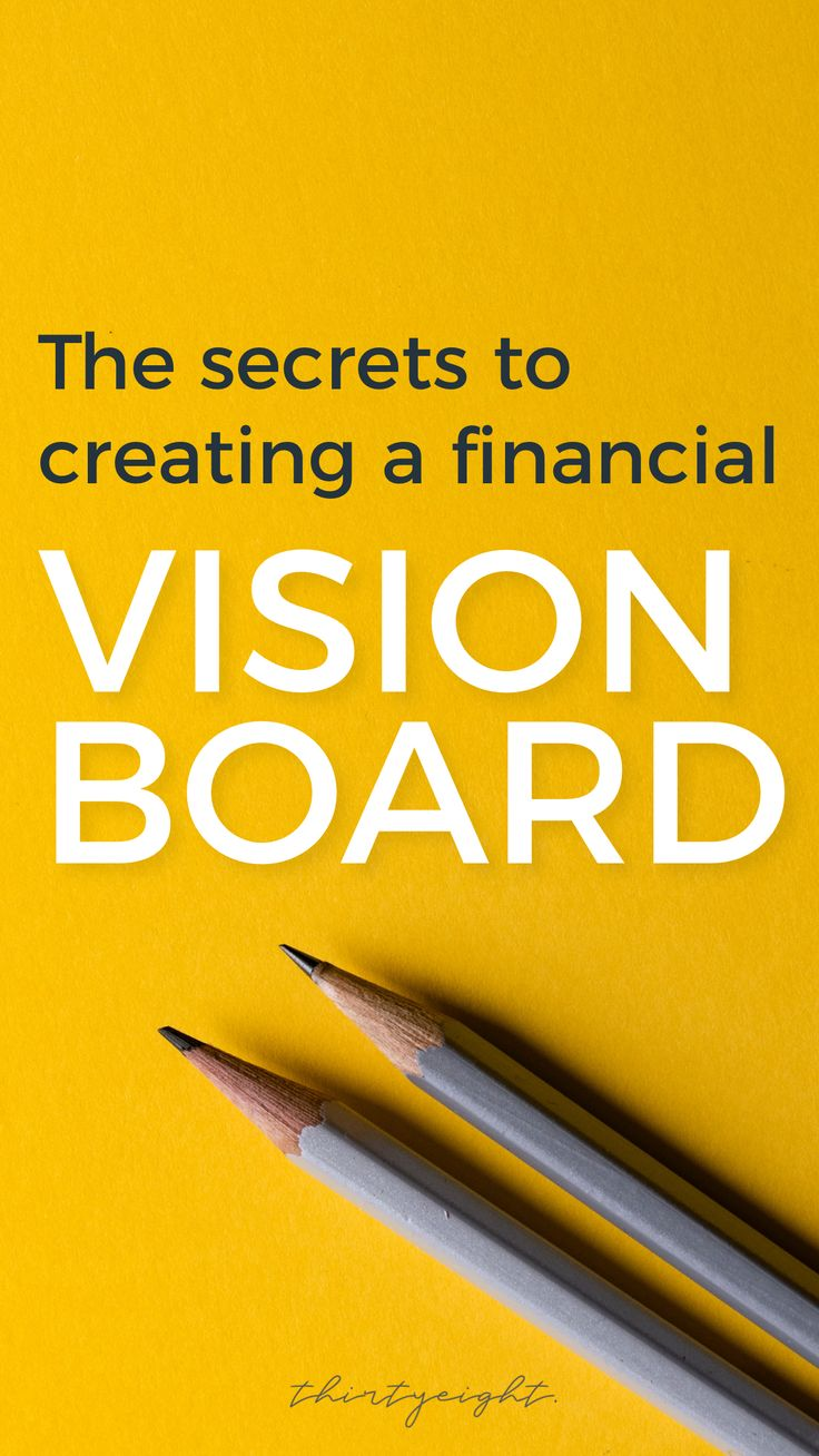 Make a Financial Freedom Vision Board