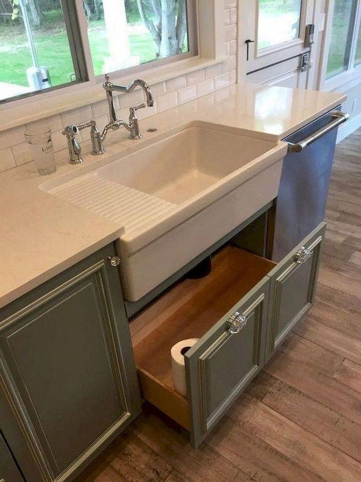 23 neat clutter free kitchen countertop ideas to keep your kitchen in tip top shape in 2020 on kitchen sink ideas id=40992