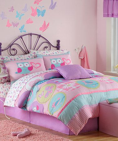 Take a look at this Hannah Comforter Set by Victoria Classics on #zulily today!