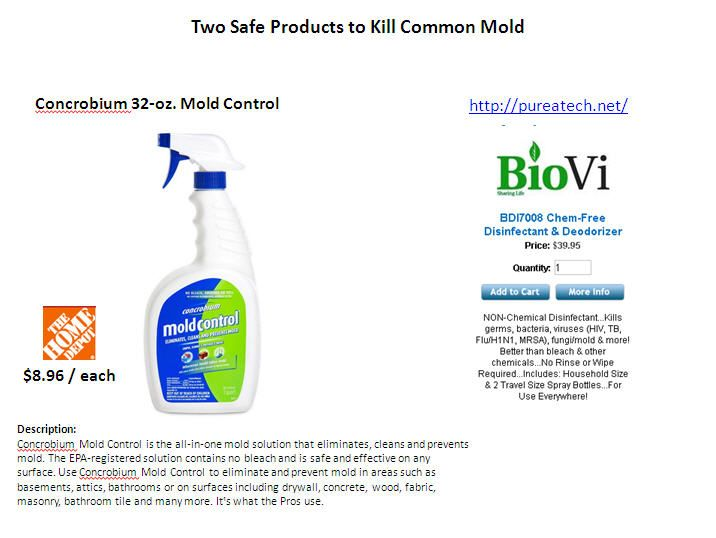 very available products for common mold problems
