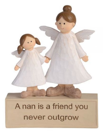 Adoring Angel Figurine - Nan