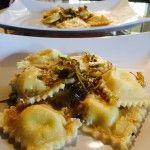 Ravioli ripieni di polpa di granchio – crab dumplings