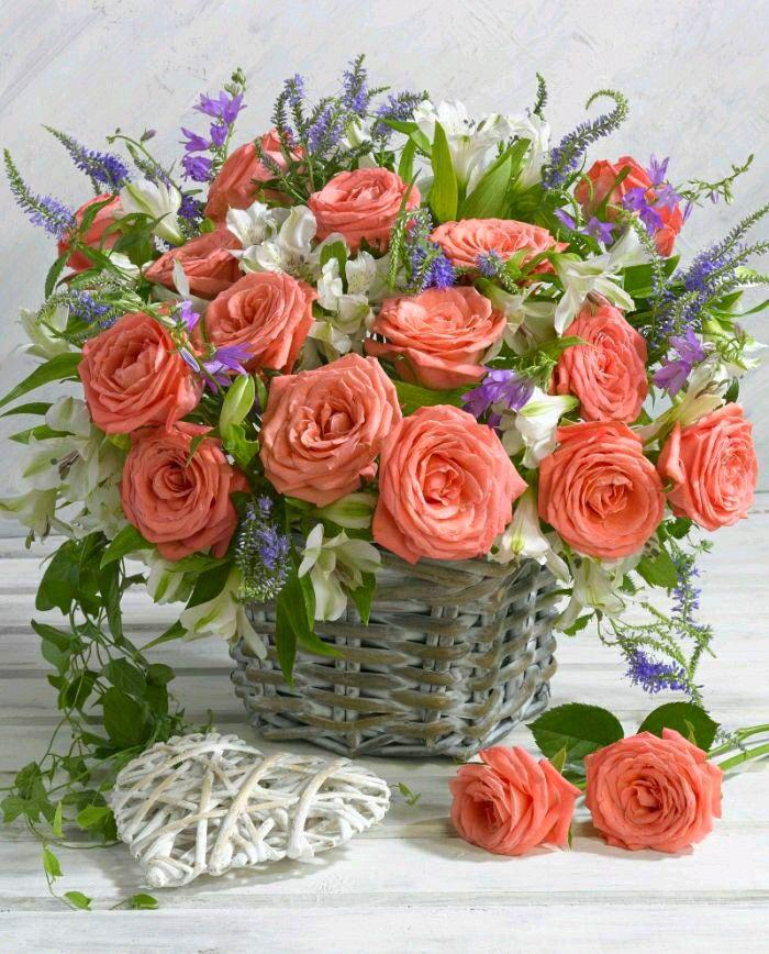 Картинки с цветами красивые букеты с днем рождения