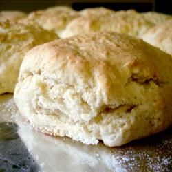 Yummy basic scone recipe - Next time I make these I will divide them again and make 16 scones.