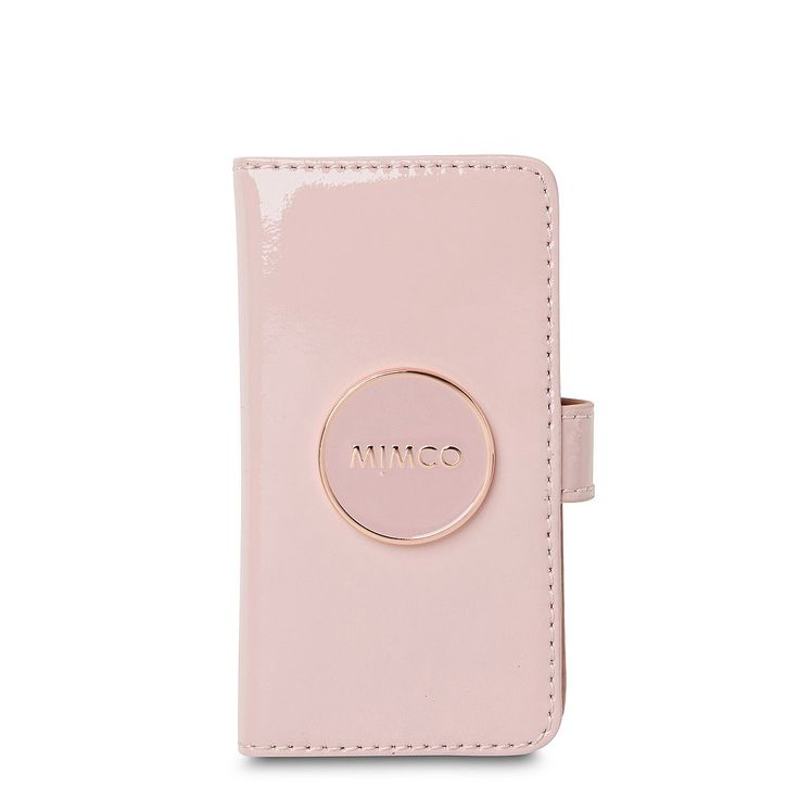 Mimco Flip Case For iPhone 5 in Blossom Pink
