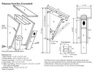 Peterson Bluebird House Plans - The Best Image Search