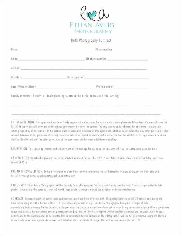 Free Wedding Photography Contract Template Awesome 3 Wedding Graphy Con Wedding Photography Contract Template Wedding Photography Contract Photography Contract
