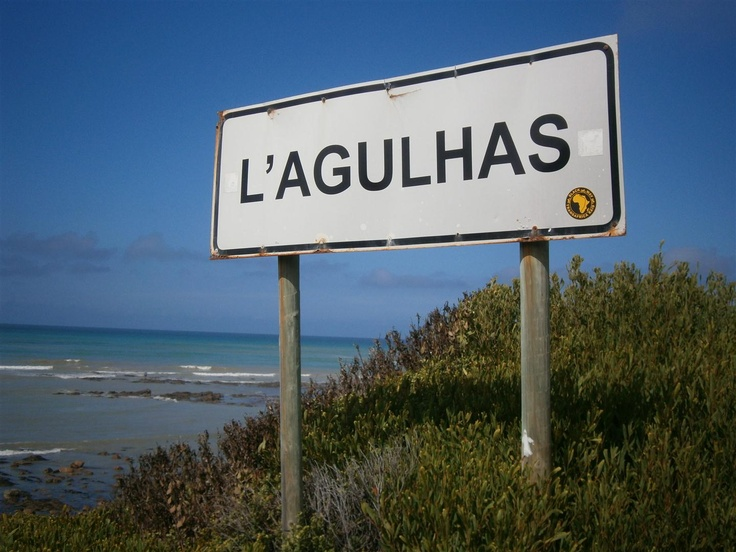 L'Agulhas, SA - southern most tip of Africa