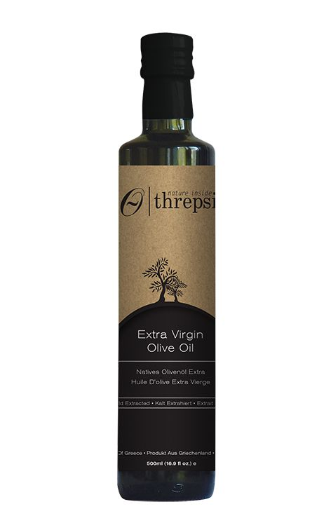 #Greek Original Threpsi Extra Virgin Olive Oil 500ml from #Messinia, #Peloponnesus #EVOO #kosher