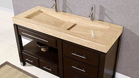 Architecture And Home Extraordinary Trough Bathroom Sink With Two