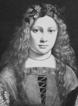 Bona Sforza (February 2, 1494 - November 19, 1557) was a member of the Milanese Sforza dynasty, was a queen of Poland, Grand Duchess of Lithuania, and became the second wife of Sigismund I of Poland in 1518.