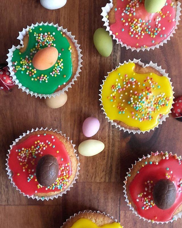 Easter cupcakes 🐰🐣🐥🐰🐣🐥🐰 🐞🐞🐞#cupcakes #Easter #sweet #delicious #vanilla #huffposttaste #sweettooth #sugarglaze #f52grams #feedfeed @thefeedfeed #foodphotography #foodstagram #instasweet #foodgawker #hautecuisines #beautifulcuisines #thekitchn #onmytable #myopenkitchen #foodandwine #lifeandthyme #lifokitchen #tastingtable #lovebaking #kitchenbowl #buzzfeastfood #tastespotting #tastingtable #foodblogger #cookingandart #marion_cookingandart