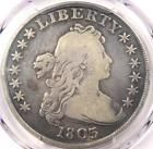 1803 Draped Bust Silver Dollar $1 - Certified PCGS VG Details - Rare Coin