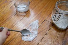 How to Get Rid of Dog Pee Smell on a Wood Floor. Information on how to keep your wood floors clean and smell pet free after a dog can make an accident and pee or poop on your floor. Don't forget how to clean up with these home essentials