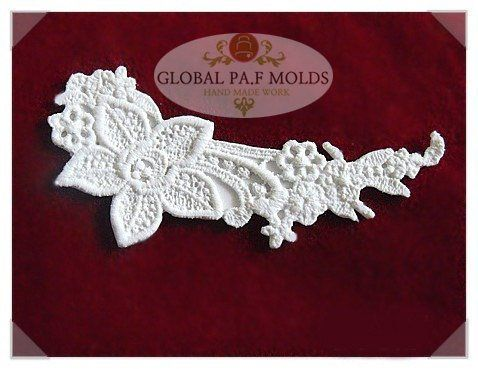Handmade Silicone Fondant Mouldnew Lace Mold 5898j ** See this great product.