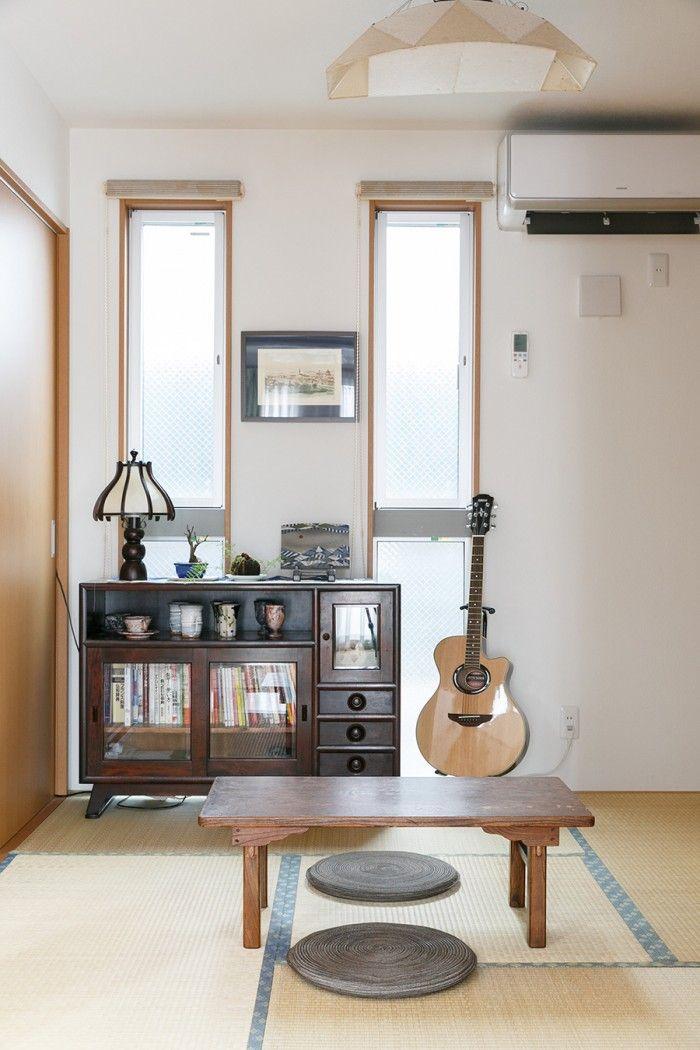 自宅で料理教室を開く アンティーク家具は家族の一員 国や時代を ... 和室にあわせたのは日本の民芸家具たち。和紙で出来た