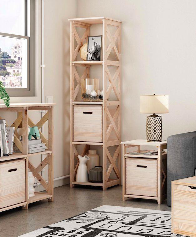 Mejores 111 im genes de organiza tu espacio en pinterest - Leroy merlin estanterias decorativas ...