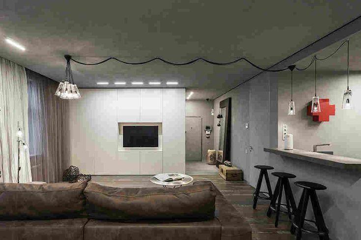 Квартира-студия для молодой девушки в центре Москвы