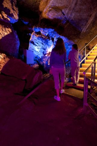 Alabaster Caverns State Park - the largest natural gypsum public touring cave in the world. 217036 SH 50A in Freedom. 580-621-3381