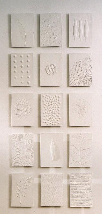 Porcelain tiles, funeral chapel  by Eva Hild  tiles 42 x 30 cm.