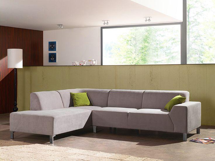 JUNIS - Super modern en strak, dit stoffen salon Junis. Het heeft zonder twijfel iets in petto voor het hele gezin | Meubelen Crack