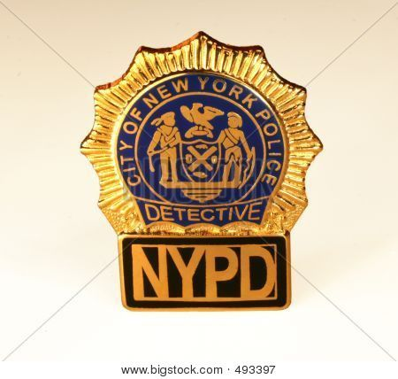 Nypd Officer Badge Nypd badge | uniform | Pinterest | Badges