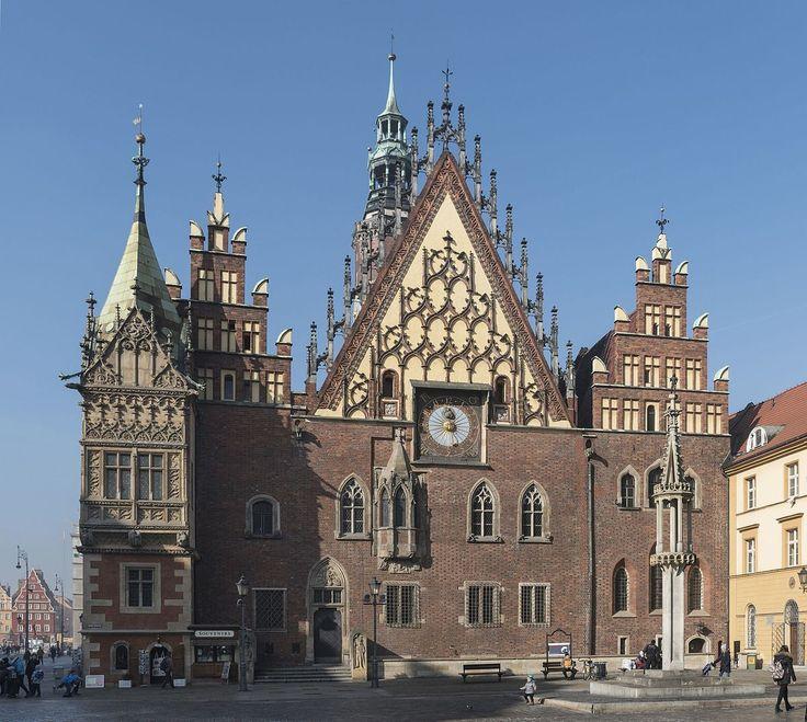 Ratusz Staromiejski we Wrocławiu (Polska) [za Wikipedia]