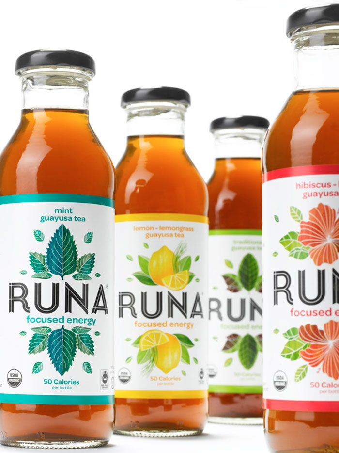 Logo is eye catching and makes you want to drink the drink, makes it look cool and needed