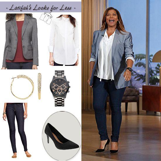 My office look )   My Look for Less Thursday November 27 2014   Queen Latifah   Queenu0026#39;s ...