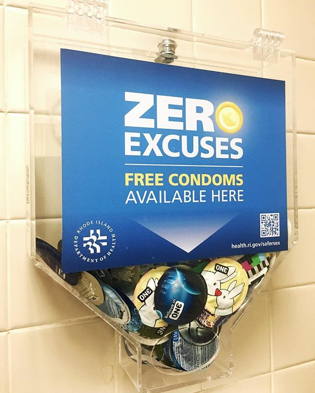 """243/365:  Another installment for ""Random Stuff in My Office"" series, or rather in my office building. #PublicHealth in action - ensuring access #freecondoms. These condom dispensers are located throughout RI; check out www.health.ri.gov/safersex to find out more"" by @ms_vone. #capture #pictures #pic #exposure #photos #snapshot #picture #composition #pics #moment #focus #all_shots #color #foto #photograph #fotografia #photographyeveryday #photoart #ig_shutterbugs #photogram #photodaily…"