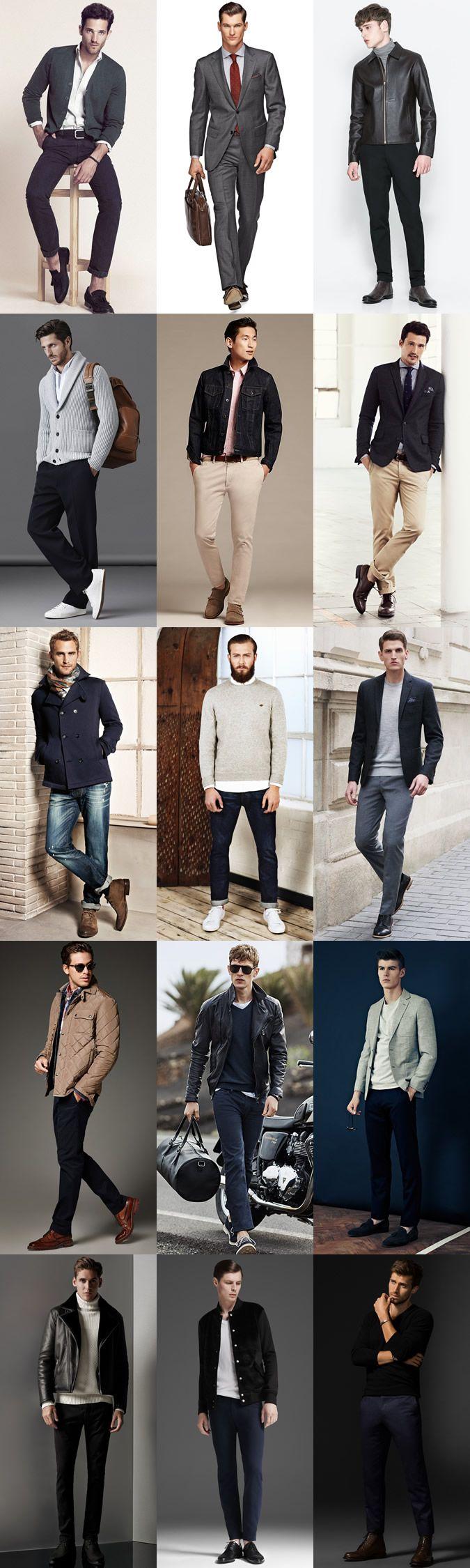 Men's Capsule Wardrobe Outfit Inspiration Lookbook