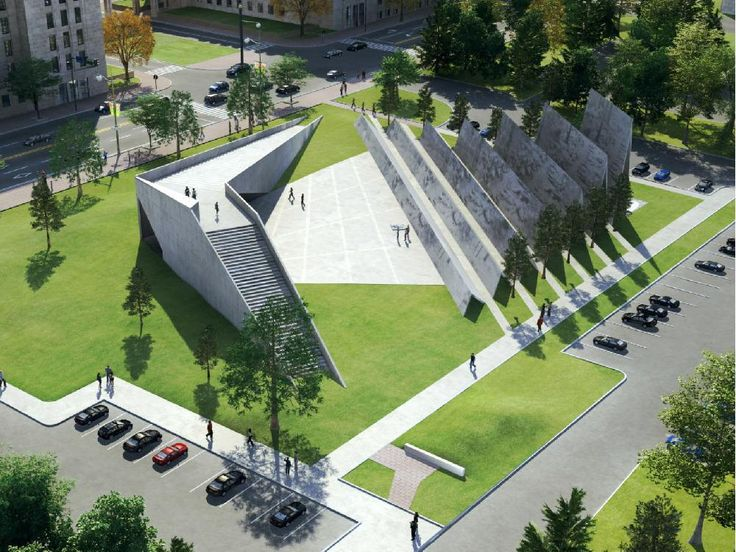 Winning design for victims of communism memorial features 100 million 'memory squares'