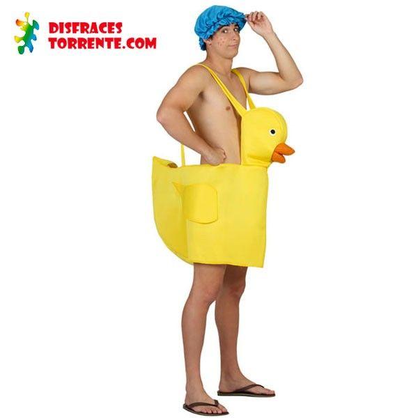Disfraz de Patito de Goma Disfrázate de patito de goma, en la piscina, en la bañera, en tu despedida, en tu boda... ¿Te imaginas una fiesta ...
