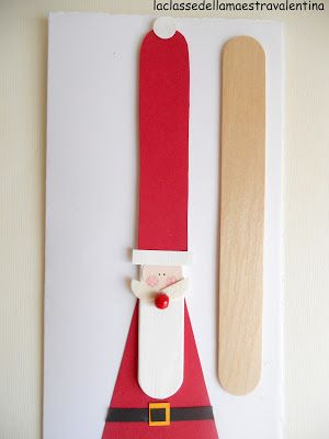 popsicle stick santa (next Christmas :)