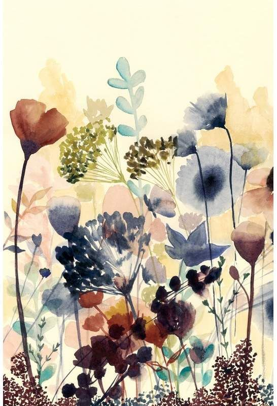 """Marmont Hill """"Sundry Blossoms I"""" Painting Print on Wrapped Canvas"""