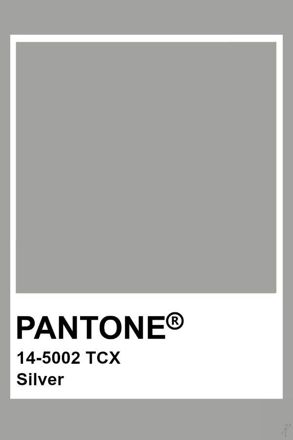 Pantone Silver | Pantone Fashion & Home TCX Colors in 2019 ...