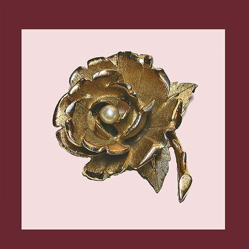 Boucher Black Flower Rose Pin Brooch Signed Numbered: 99 Best Images About CHRISTMAS GIFTS TO HAVE AND TO HOLD
