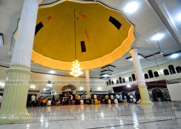 Tarawih Pertama Ramadhan 1434H/2013M Masjid Agung Baitussalam Purwokerto