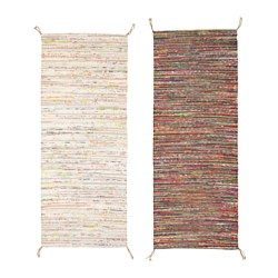 IKEA - TÅNUM, Rug, flatwoven, Handwoven by skilled craftspeople, and therefore unique.