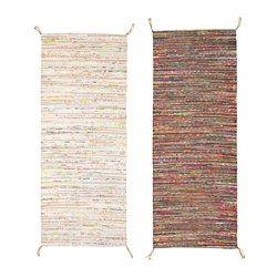 IKEA - TÅNUM, Teppich flach gewebt, Handgewebt von talentierten Kunsthandwerkern; jedes Produkt ist einmalig.