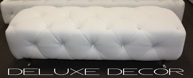 Monique Modern White PU Leather Diamond Buttoned Ottoman http://deluxedecor.com.au/products-page/monique-collection/monique-modern-white-pu-leather-diamond-buttoned-ottoman/
