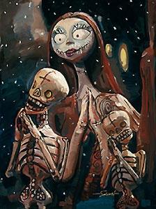 Nightmare Before Christmas - The Pumpkin Dance - Jim Salvati - World-Wide-Art.com - $495.00 #Disney #JimSalvati