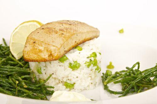 Zeekraal met gemarineerde tofu en rijstsalade | veganistisch koken - heerlijke recepten