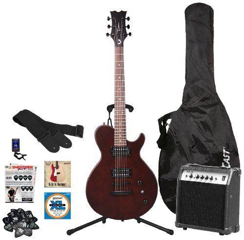 dean guitars evoxm sn m10 kit evo xm satin natural electric guitar with 10 watt amplifier dvd. Black Bedroom Furniture Sets. Home Design Ideas